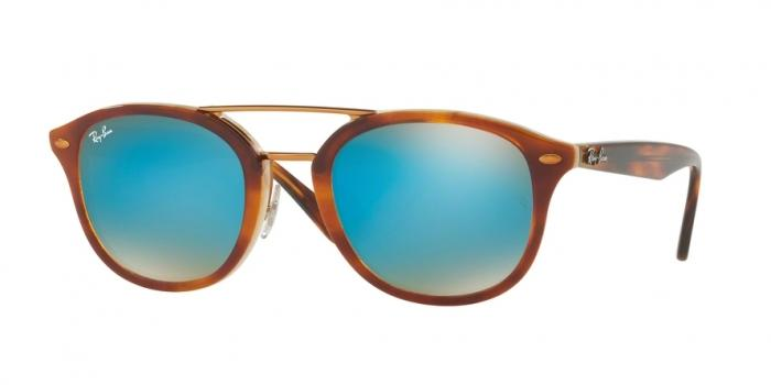 Gafas de sol Ray-Ban RB2183 1128B7 TOP HAVANA BROWN/HONEY - BROWN GRADIENT MIRROR BLUE