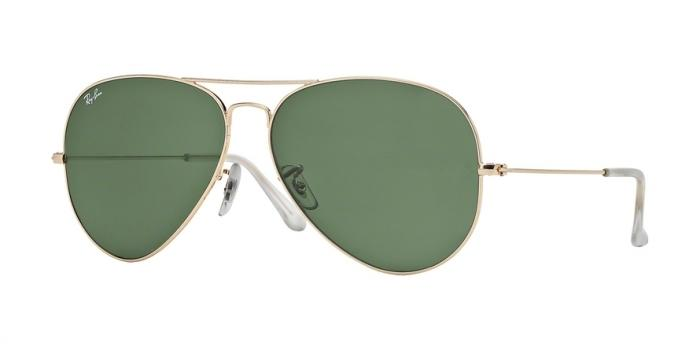 Gafas de sol Ray-Ban AVIATOR LARGE METAL RB3025 1 GOLD - GREY GREEN