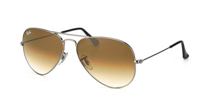 Gafas de sol Ray-Ban AVIATOR LARGE METAL RB3025 004/51 GUNMETAL - CRYSTAL BROWN GRADIENT