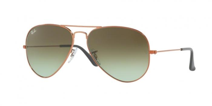 Gafas de sol Ray-Ban RB3025 9002A6 SHINY MEDIUM BRONZE - GREEN GRADIENT BROWN