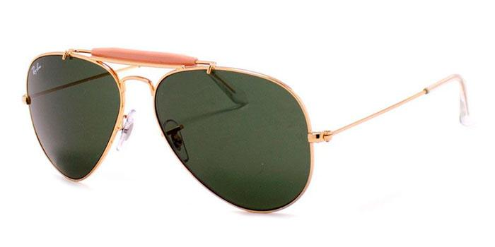 Gafas de sol Ray-Ban OUTDOORSMAN II RB3029 L2112 ARISTA - CRYSTAL GREEN