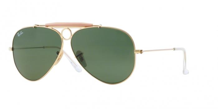 Gafas de sol Ray-Ban SHOOTER RB3138 1 ARISTA - CRYSTAL GREEN