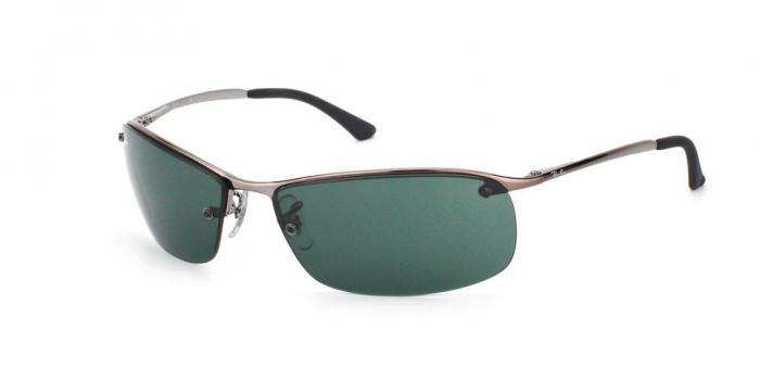 Gafas de sol Ray-Ban RB3183 TOP BAR 004/71 GUNMETAL - GREEN