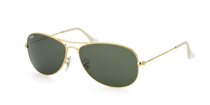 Gafas de sol Ray-Ban COCKPIT RB3362 001 ARISTA - CRYSTAL GREEN