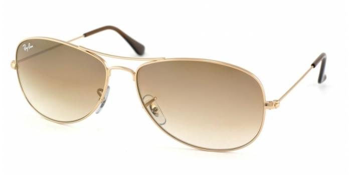 Gafas de sol Ray-Ban COCKPIT RB3362 001/51 ARISTA - CRYSTAL BROWN GRADIENT