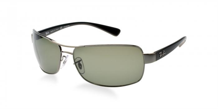 Gafas de sol Ray-Ban RB3379 004/58 GUNMETAL - GREEN POLARIZED
