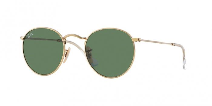 Gafas de sol Ray-Ban ROUND METAL RB3447 1 ARISTA - CRYSTAL GREEN