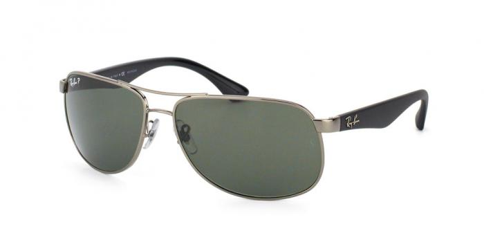 Gafas de sol Ray-Ban RB3502 004/58 GUNMETAL - GREEN POLARIZED