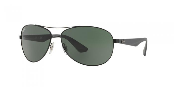 Gafas de sol Ray-Ban RB3526 006/71 MATTE BLACK - GREY GREEN
