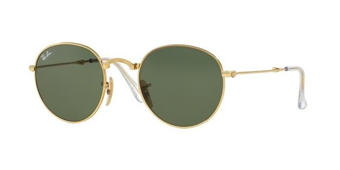 Gafas de sol Ray-Ban FOLDING ROUND METAL RB3532 1 GOLD - GREEN