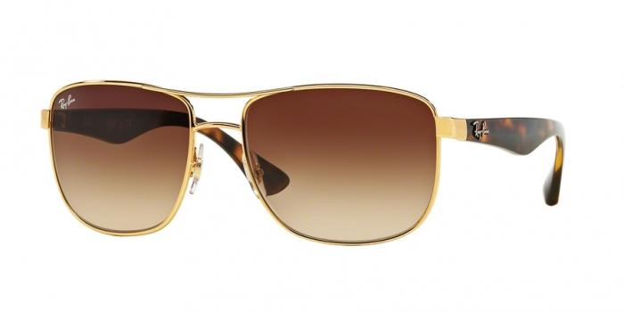 Gafas de sol Ray-Ban RB3533 001/13 GOLD - BROWN GRADIENT