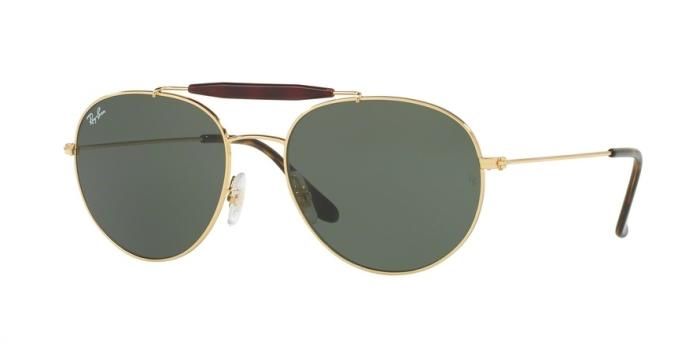 Gafas de sol Ray-Ban RB3540 1 GOLD - GREEN