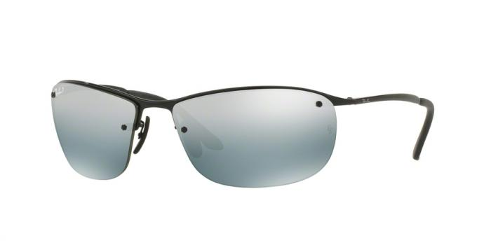 Gafas de sol Ray-Ban RB3542 002/5L SHINY BLACK - BLUE MIRROR SILVER POLAR
