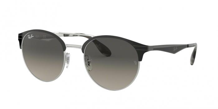 Gafas de sol Ray-Ban RB3545 900411 TOP BLACK ON SILVER - GREY GRADIENT