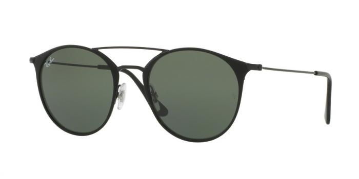 Gafas de sol Ray-Ban RB3546 186 BLACK TOP MATTE BLACK - GREEN