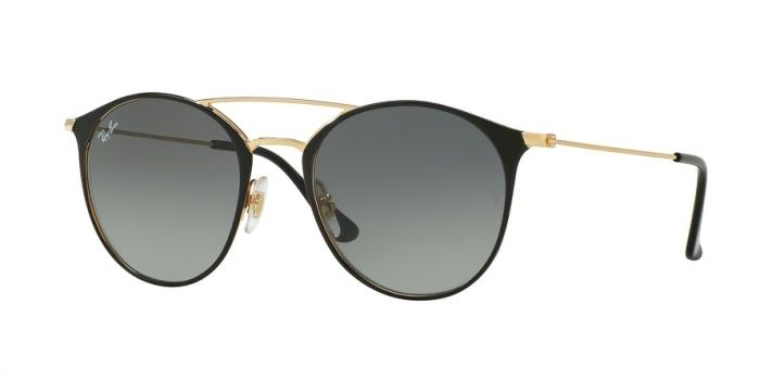 Gafas de sol Ray-Ban RB3546 187/71 GOLD TOP BLACK - GREY GRADIENT