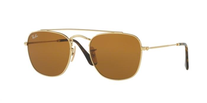 Gafas de sol Ray-Ban RB3557 001/33 GOLD - BROWN