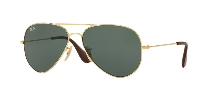 Gafas de sol Ray-Ban RB3558 001/71 GOLD - GREEN