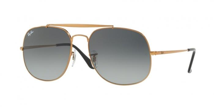 Gafas de sol Ray-Ban RAY-BAN THE GENERAL RB3561 197/71 BRONZE - GREY GREEN
