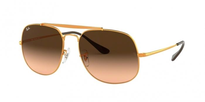 Gafas de sol Ray-Ban RAY-BAN THE GENERAL RB3561 9001A5 LIGHT BRONZE - PINK GRADIENT BROWN