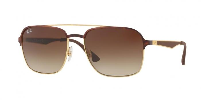 Gafas de sol Ray-Ban RB3570 900813 GOLD TOP HAVANA - GRADIENT BROWN