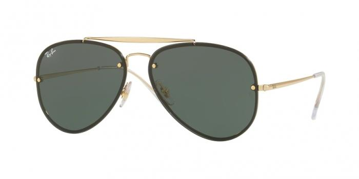 Gafas de sol Ray-Ban RB3584N 905071 GOLD - DARK GREEN