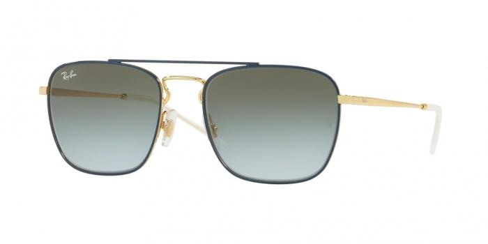 Gafas de sol Ray-Ban RB3588 9062I7 GOLD TOP ON BLUE - LIGHT BLUE GRADIENT GREEN