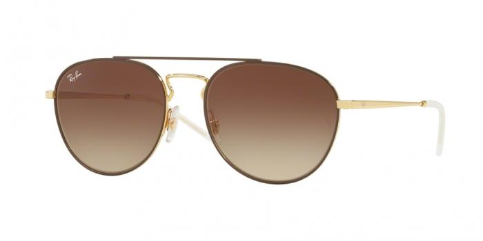 Gafas de sol Ray-Ban RB3589 905513 GOLD TOP ON BROWN - GRADIENT BROWN