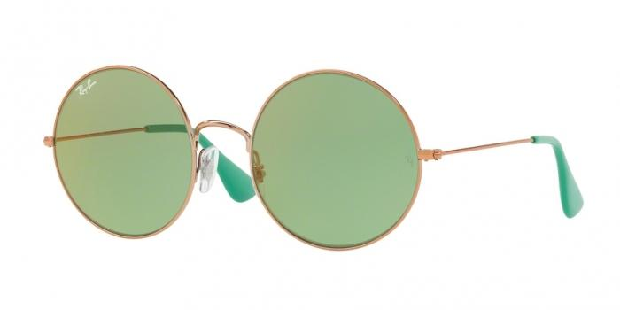 Gafas de sol Ray-Ban RAY-BAN JA-JO RB3592 9035C7 SHINY COPPER - GREEN MIRROR RED
