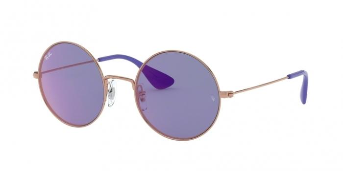Gafas de sol Ray-Ban RAY-BAN JA-JO RB3592 9035D1 SHINY COPPER - DARK VIOLET MIRROR RED
