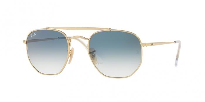 Gafas de sol Ray-Ban RB3648 001/3F GOLD - CLEAR GRADIENT BLUE