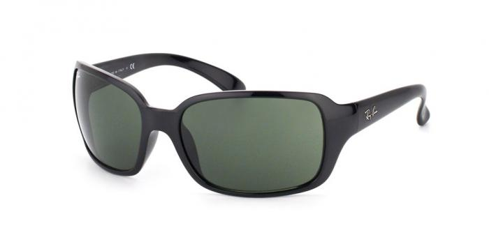 Gafas de sol Ray-Ban RB4068 601 BLACK - CRYSTAL GREEN