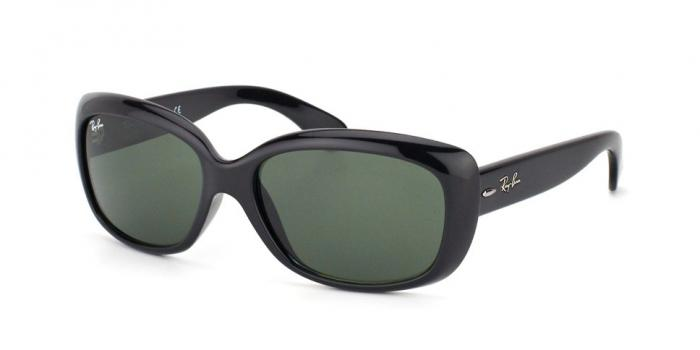 Gafas de sol Ray-Ban RB4101 JACKIE OHH 601 BLACK - GREEN