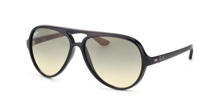 Gafas de sol Ray-Ban CATS 5000 RB4125 601/32 BLACK - CRYSTAL GREY GRADIENT