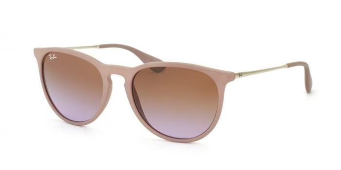 Gafas de sol Ray-Ban ERIKA RB4171 600068 DARK RUBBER SAND - BROWN GRADIENT