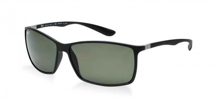 Gafas de sol Ray-Ban LITEFORCE RB4179 601S9A MATTE BLACK - DARK GREEN POLAR