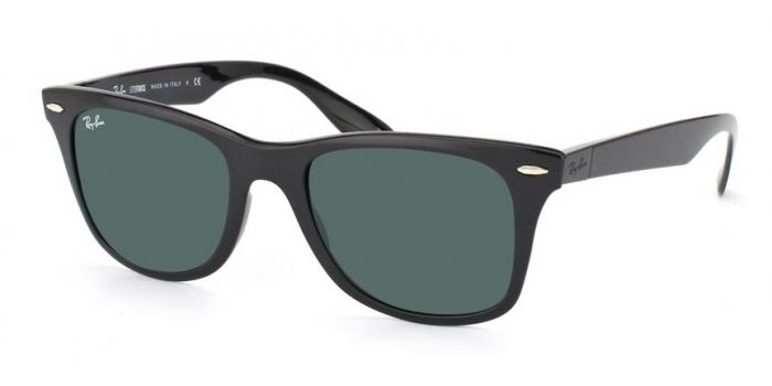 Gafas de sol Ray-Ban WAYFARER LITEFORCE RB4195 601/71 BLACK - GREEN