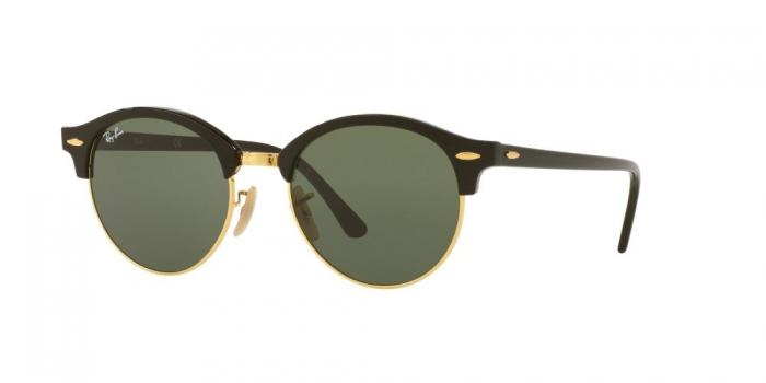 Gafas de sol Ray-Ban RB4246 CLUBROUND 901 BLACK - GREEN