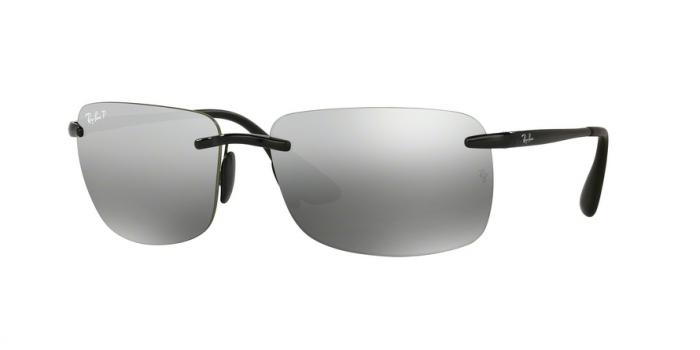 Gafas de sol Ray-Ban RB4255 601/5J SHINY BLACK - GREY MIRROR SILVER POLAR