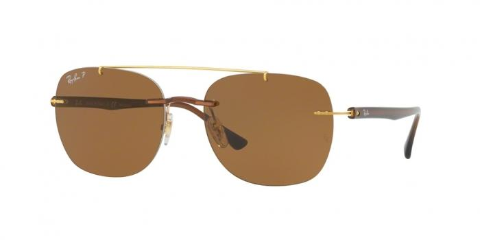 Gafas de sol Ray-Ban RB4280 628783 BROWN - POLAR BROWN