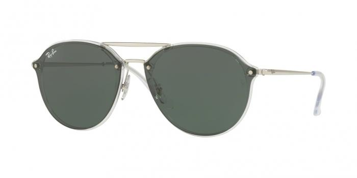 Gafas de sol Ray-Ban RB4292N 632571 TRASPARENT - DARK GREEN