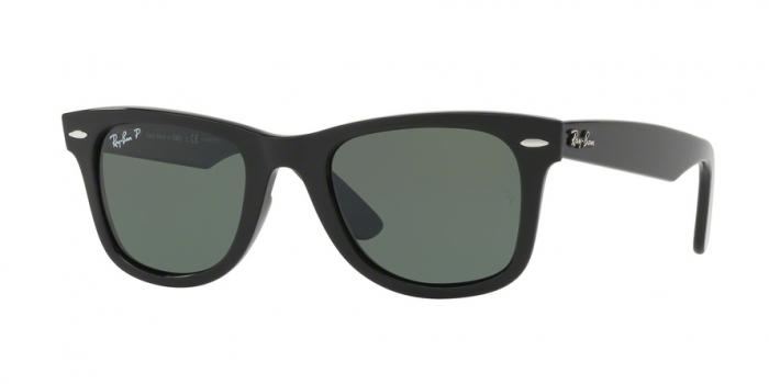 Gafas de sol Ray-Ban RB4340 WAYFARER 601/58 BLACK - GREEN POLARIZED