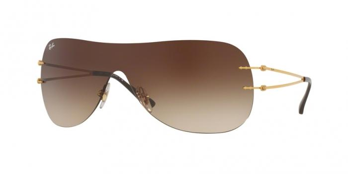 Gafas de sol Ray-Ban RB8057 157/13 BRUSHED GOLD - BROWN GRADIENT