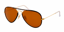 Gafas de Sol Ray-Ban AVIATOR FULL COLOR RB3025JM 001 ARISTA - BROWN