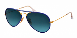 Gafas de Sol Ray-Ban AVIATOR FULL COLOR RB3025JM 001/4M ARISTA - BLUE GRADIENT BLUE