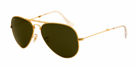 Gafas de Sol Ray-Ban AVIATOR FOLDING RB3479 1 ARISTA - CRYSTAL GREEN