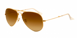 Gafas de Sol Ray-Ban AVIATOR FOLDING RB3479 001/51 ARISTA - CRYSTAL BROWN GRADIENT