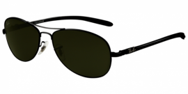 Gafas de Sol Ray-Ban RB8301 002 BLACK - CRYSTAL GREEN