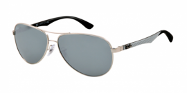 Gafas de Sol Ray-Ban CARBON FIBRE RB8313 003/40 SILVER - CRYSTAL GREY MIRROR
