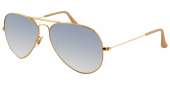 Gafas de Sol Ray-Ban AVIATOR LARGE METAL RB3025 001/3F GOLD - CRYSTAL GRADIENT LIGHT BLUE